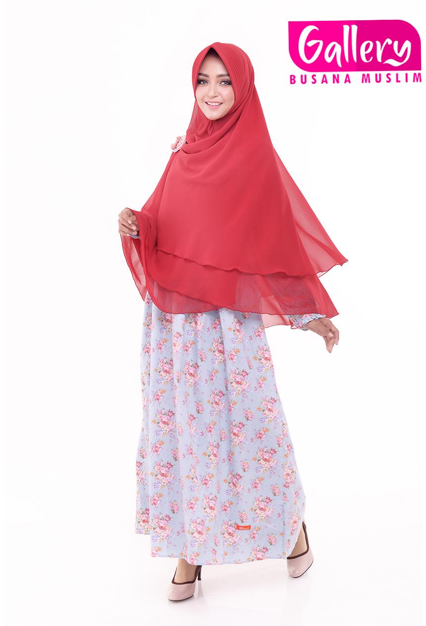 Grosir baju muslim jilbab syari gamis murah batik wanita Suplier baju gamis remaja harga pabrik bandung